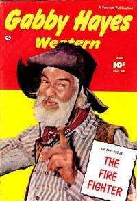 Cover Thumbnail for Gabby Hayes Western (Fawcett, 1948 series) #38