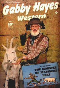 Cover Thumbnail for Gabby Hayes Western (Fawcett, 1948 series) #42