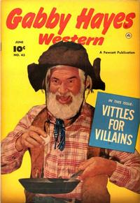 Cover Thumbnail for Gabby Hayes Western (Fawcett, 1948 series) #43
