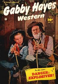 Cover Thumbnail for Gabby Hayes Western (Fawcett, 1948 series) #44