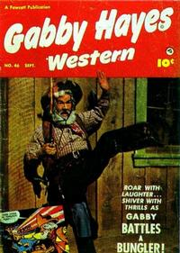 Cover Thumbnail for Gabby Hayes Western (Fawcett, 1948 series) #46