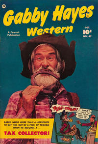 Cover Thumbnail for Gabby Hayes Western (Fawcett, 1948 series) #47