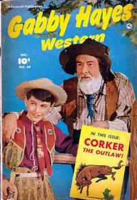 Cover Thumbnail for Gabby Hayes Western (Fawcett, 1948 series) #49