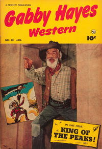 Cover Thumbnail for Gabby Hayes Western (Fawcett, 1948 series) #50