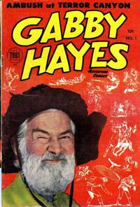 Cover Thumbnail for Gabby Hayes Western (Toby, 1953 series) #1