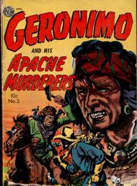 Cover Thumbnail for Geronimo (Avon, 1950 series) #3