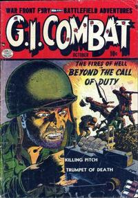 Cover Thumbnail for G.I. Combat (Quality Comics, 1952 series) #1