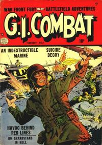 Cover Thumbnail for G.I. Combat (Quality Comics, 1952 series) #3