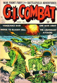 Cover Thumbnail for G.I. Combat (Quality Comics, 1952 series) #4