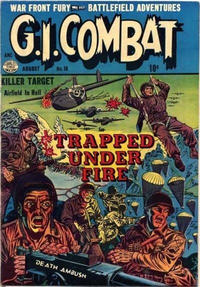 Cover Thumbnail for G.I. Combat (Quality Comics, 1952 series) #16