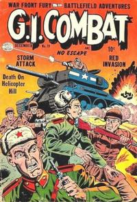 Cover Thumbnail for G.I. Combat (Quality Comics, 1952 series) #19
