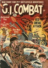 Cover Thumbnail for G.I. Combat (Quality Comics, 1952 series) #21