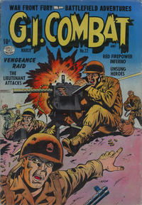 Cover Thumbnail for G.I. Combat (Quality Comics, 1952 series) #22