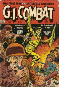 Cover Thumbnail for G.I. Combat (Quality Comics, 1952 series) #23