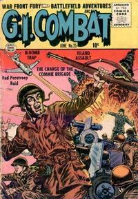 Cover Thumbnail for G.I. Combat (Quality Comics, 1952 series) #25