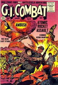 Cover Thumbnail for G.I. Combat (Quality Comics, 1952 series) #32