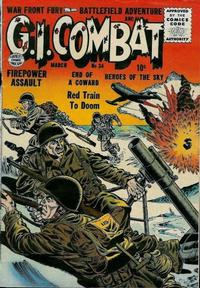 Cover Thumbnail for G.I. Combat (Quality Comics, 1952 series) #34