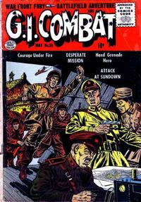 Cover Thumbnail for G.I. Combat (Quality Comics, 1952 series) #36
