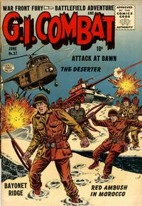 Cover Thumbnail for G.I. Combat (Quality Comics, 1952 series) #37