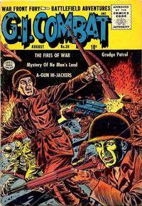 Cover Thumbnail for G.I. Combat (Quality Comics, 1952 series) #39