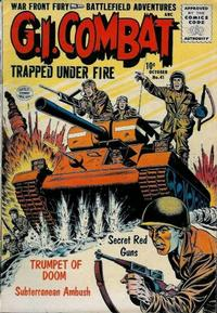 Cover for G.I. Combat (Quality Comics, 1952 series) #41