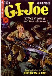 Cover Thumbnail for G.I. Joe (Ziff-Davis, 1950 series) #13