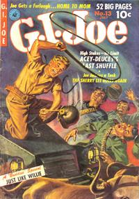 Cover Thumbnail for G.I. Joe (Ziff-Davis, 1951 series) #13