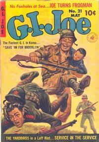 Cover Thumbnail for G.I. Joe (Ziff-Davis, 1951 series) #21