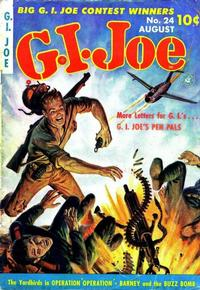 Cover Thumbnail for G.I. Joe (Ziff-Davis, 1951 series) #24