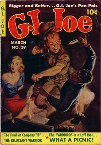 Cover Thumbnail for G.I. Joe (Ziff-Davis, 1951 series) #29