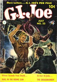 Cover Thumbnail for G.I. Joe (Ziff-Davis, 1951 series) #33