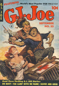 Cover Thumbnail for G.I. Joe (Ziff-Davis, 1951 series) #35