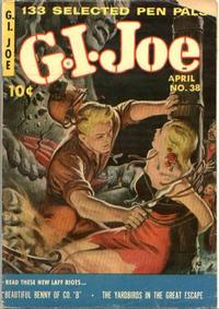 Cover Thumbnail for G.I. Joe (Ziff-Davis, 1951 series) #38