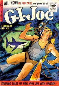 Cover Thumbnail for G.I. Joe (Ziff-Davis, 1951 series) #43