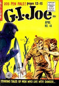 Cover for G.I. Joe (Ziff-Davis, 1951 series) #44