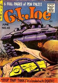 Cover for G.I. Joe (Ziff-Davis, 1951 series) #45