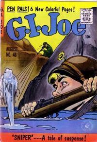 Cover Thumbnail for G.I. Joe (Ziff-Davis, 1951 series) #46