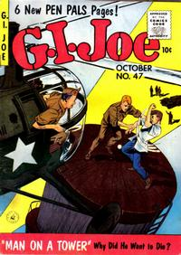 Cover Thumbnail for G.I. Joe (Ziff-Davis, 1951 series) #47