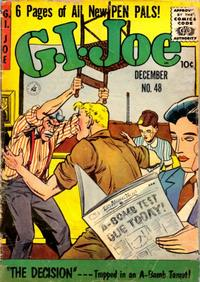 Cover Thumbnail for G.I. Joe (Ziff-Davis, 1951 series) #48