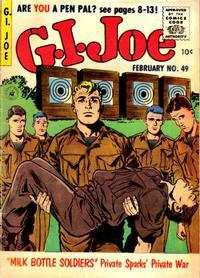 Cover Thumbnail for G.I. Joe (Ziff-Davis, 1951 series) #49