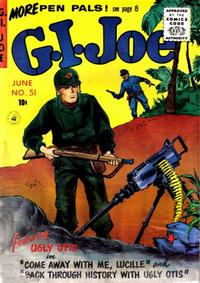 Cover Thumbnail for G.I. Joe (Ziff-Davis, 1951 series) #51