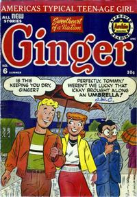 Cover Thumbnail for Ginger (Archie, 1951 series) #6