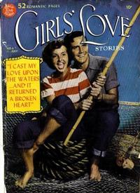 Cover Thumbnail for Girls' Love Stories (DC, 1949 series) #6