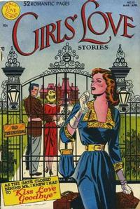 Cover Thumbnail for Girls' Love Stories (DC, 1949 series) #10
