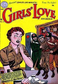Cover Thumbnail for Girls' Love Stories (DC, 1949 series) #18