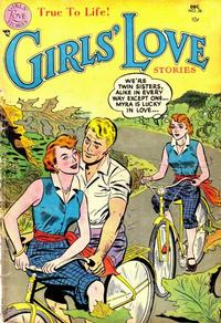 Cover Thumbnail for Girls' Love Stories (DC, 1949 series) #26