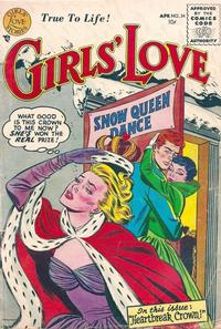 Cover Thumbnail for Girls' Love Stories (DC, 1949 series) #34