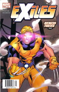 Cover Thumbnail for Exiles (Marvel, 2001 series) #31 [Direct Edition]