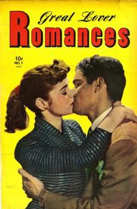 Cover Thumbnail for Great Lover Romances (Toby, 1951 series) #1