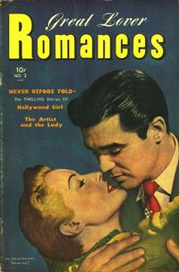 Cover Thumbnail for Great Lover Romances (Toby, 1951 series) #2